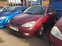 2003 Ford Focus 1.8TDCi 100 LX 4dr Diesel PLEASE READ ADVERTS