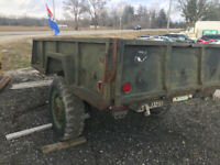 Trailer Classic Canadian Military London Ontario Preview