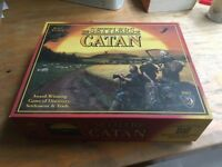 Settlers of Catan Board Game and expansion for 6players. Very good condition