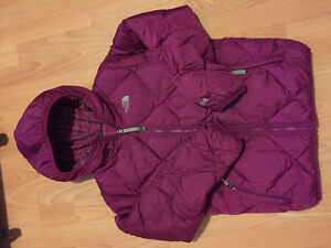 Youth XL The North Face Reversible down jacket