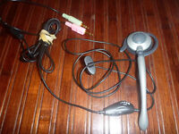Monoaural Over-The-Ear Headset with Microphone Boom
