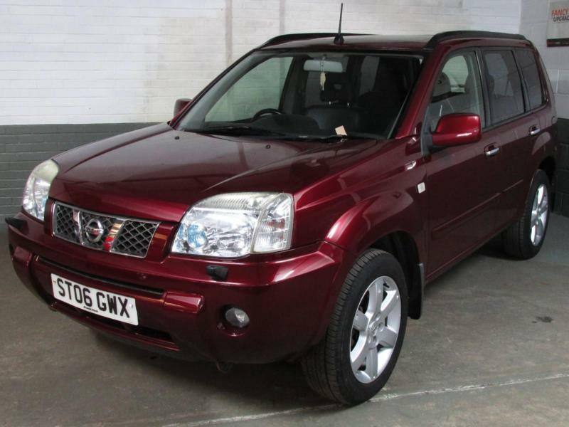 2006 nissan x trail 2 2 dci 136 aventura 4wd htd elec leather xenons sat nav in mansfield. Black Bedroom Furniture Sets. Home Design Ideas