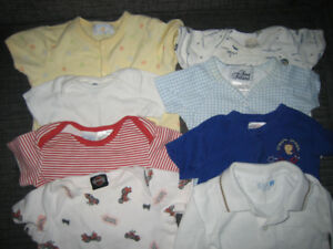 BOY'S CLOTHES SZ. N/B to 1 yr.