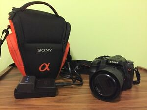 Sony a100 with 18-70 lens