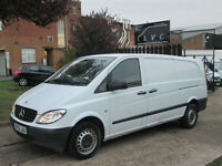 2010 Mercedes-Benz Vito 2.1CDi XLWB Extra Long 109CDI Comfort. AIRCON. RARE VAN
