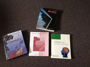 First Year UofA textbooks