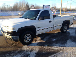 2002 Chevrolet Silverado 2500 Pickup for sale or trade for
