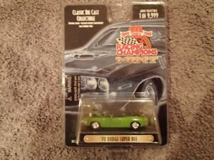 1:64 SCALE DIE-CAST RACING CHAMPIONS 70 SUPER BEE J-5 SUBLIME