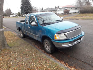 1997 Ford F150 Supercab 4X4 for Sale or Trade