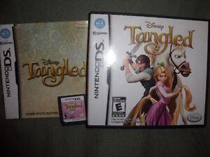 jeu Disney Tangled pour nontendo DS