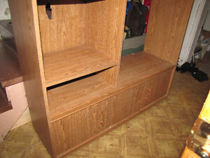 Wall Unit - TV stand Free