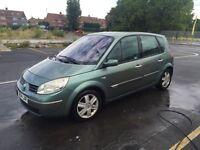 Renault scenic 1.4 petrol,2004,reg, £499,