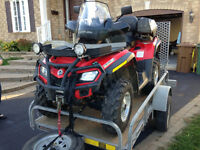 VTT CAN-AM BRP 4x4 Outlander 650 MAX XT 2010