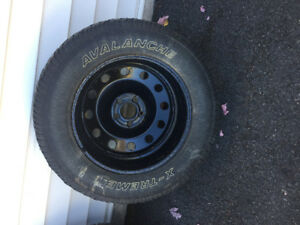 235 55 R17 Tires and Wheels