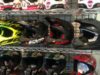 NEW FXR HELMETS NOW AT HALIFAX MOTORSPORTS!!