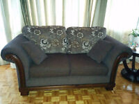 Almost brand new two seat sofa value of 850$