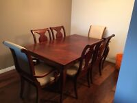 Mahogany antique dinning table