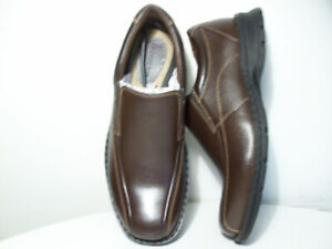 NEW LEATHER SHOES DOCKERS ALL-SEASON WATER RESiSTANT SiZE 9