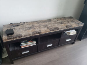Book Shelf, TV stand,Table Lamp