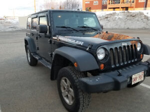 GREAT CONDITION  2007 Jeep Wrangler unlimited !