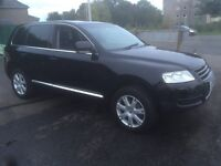 2005 , vw touareg , 3.0 diesel , v6 , full years mot , full history