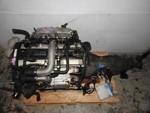 JDM NISSAN SKYLINE RB25DET TURBO ENGINE 5SPEED RWD TRANS ECU WIR