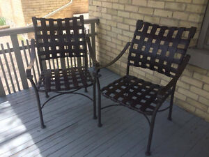 Brown Lawn Chairs
