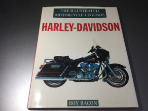 The Illustrated History of Harley-Davidson Motorcycles Roy Bacon