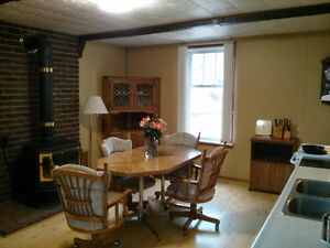 3 rooms for rent. 6-12 months. Heritage home on Otonabee river. Peterborough Peterborough Area image 2