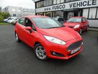 2013 Ford Fiesta 1.25 Zetec - Red - Long MOT - Platinum Warranty!