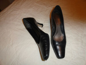 Leather High Heels - Dressy Shoes - 4 Pairs - $10.00 a pair