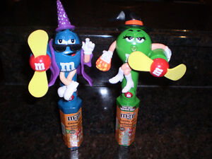 M&M CANDY CONTAINERS