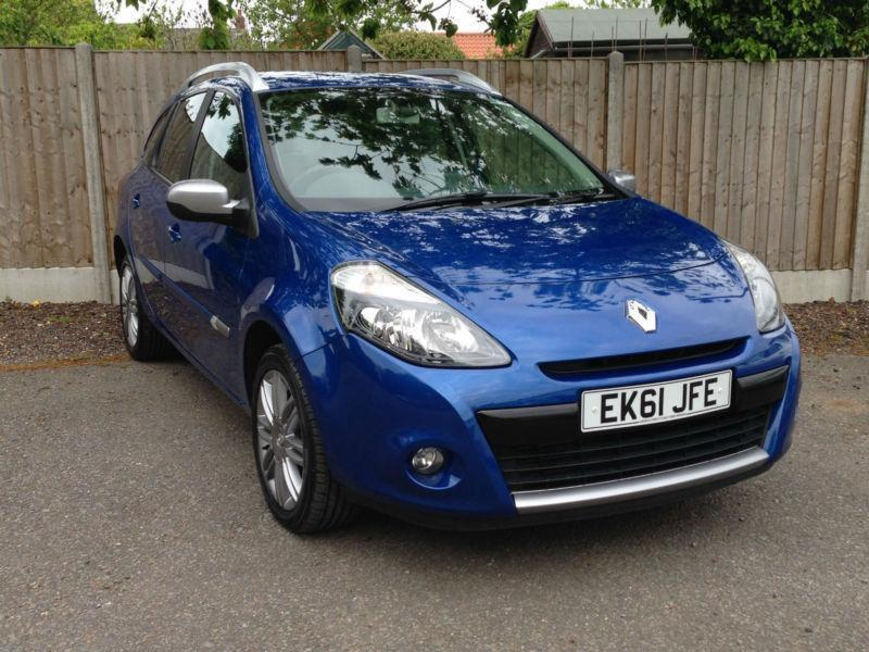 renault clio tourer estate 88bhp fap 2011my gt line tomtom in saxmundham suffolk. Black Bedroom Furniture Sets. Home Design Ideas