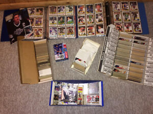 Hockey Card Collection - 1960's to 2000's