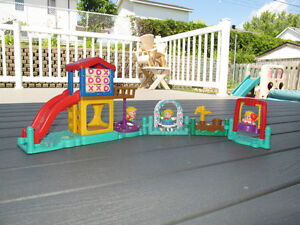 Fisher Price Little People Playground with Fun Sounds Gatineau Ottawa / Gatineau Area image 1