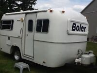 Boler Travel Trailer