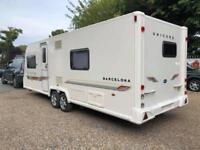 2012 Bailey Unicorn Barcelona 4 Berth caravan Fixed Bed VGC Twin Axle, Bargain!