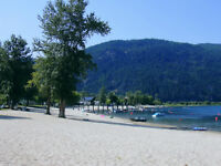 WATER FRONT LOT - MARA LAKE, BC - CRYSTAL SANDS RESORT