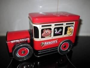 Arnotts Tiny Teddy Biscuits Tin Truck Devonport Devonport Area Preview