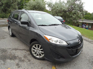 2013 MAZDA MAZDA5 , LOW MILEAGE , HANDSFREE BLUETOOTH !!!