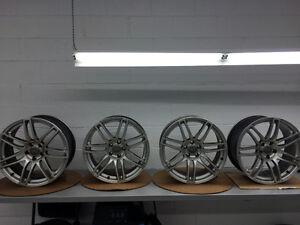Audi Rims (will fit some VW and Mercedes too) Kingston Kingston Area image 1