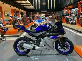 2016 Yamaha YZF-R 125 Learner Legal Sports Bike New MOT YZFR 125 YZF R