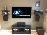 Professional TV wall mounting $125