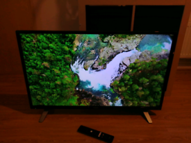 40 inch Toshiba Smart full HD LED TV with Freeview