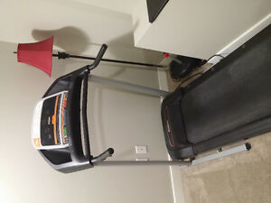 Perfectly working treadmill for Elliptical, will throw in dumbel