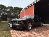 E24 BMW M6 rare hand built car