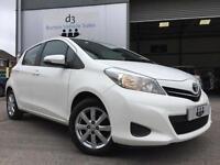 2012/12 Toyota Yaris 1.33 VVT-i TR 5 Door Pure White High Spec + Service History