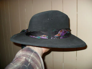 small leather cowgirl/fadora type hat Peterborough Peterborough Area image 5