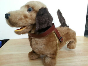Vintage Battery Operated Dachshund