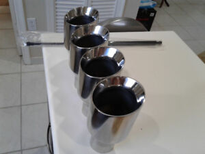 "4"" Stainless steel exhaust tips"